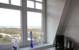 Ferienwohnung am Strand mit Meerblick – Warnemünde