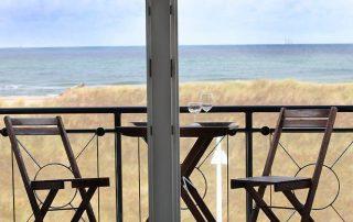 Ferienwohnung in Warnemünde direkt am Meer gelegen