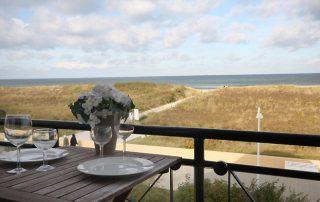 Romantische Ferienwohnung direkt am Strand – Warnemünde